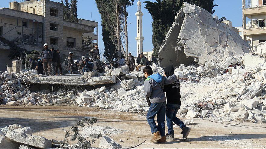 Trotz Feuerpause: 15 Tote bei Luftangriffen in Idlib