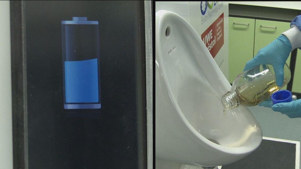 L'urine pour recharger son mobile