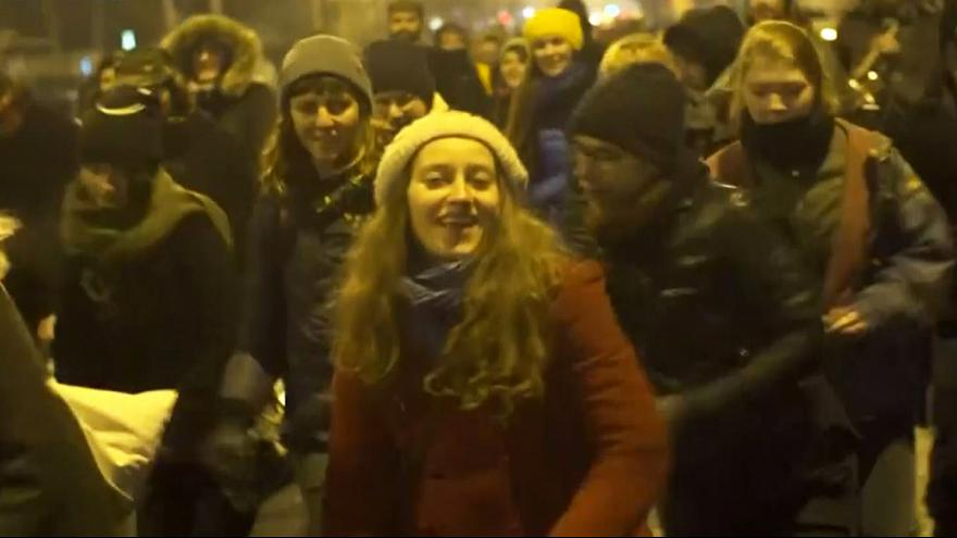 Румыния: танец протеста