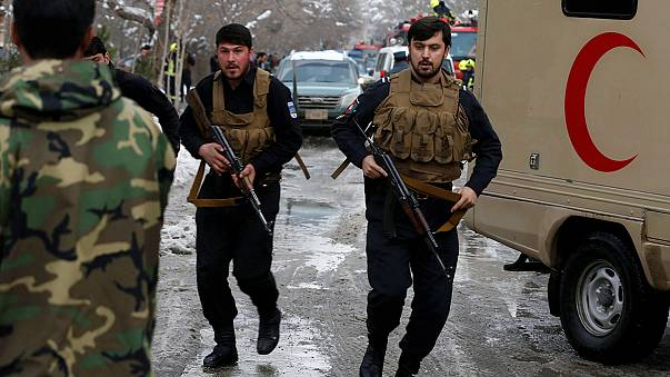 Terrortámadás az afganisztáni Legfelsőbb Bíróság épületénél