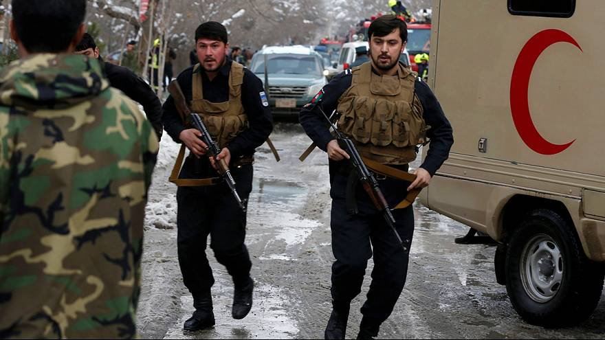 Suicide bomb 'kills 20' outside Afghan Supreme Court in Kabul