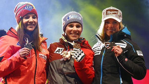 Schmidhofer da la sorpresa en el arranque de los Mundiales de Esquí Alpino de Saint Moritz