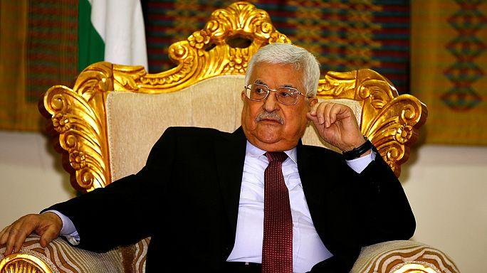 Mahmúd Abbász: Izrael célja az apartheid