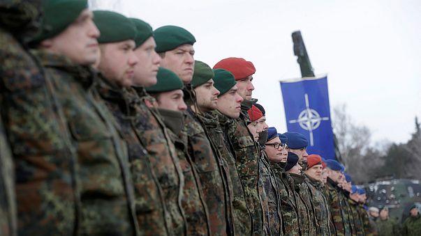 Német NATO-katonák érkeztek Litvániába