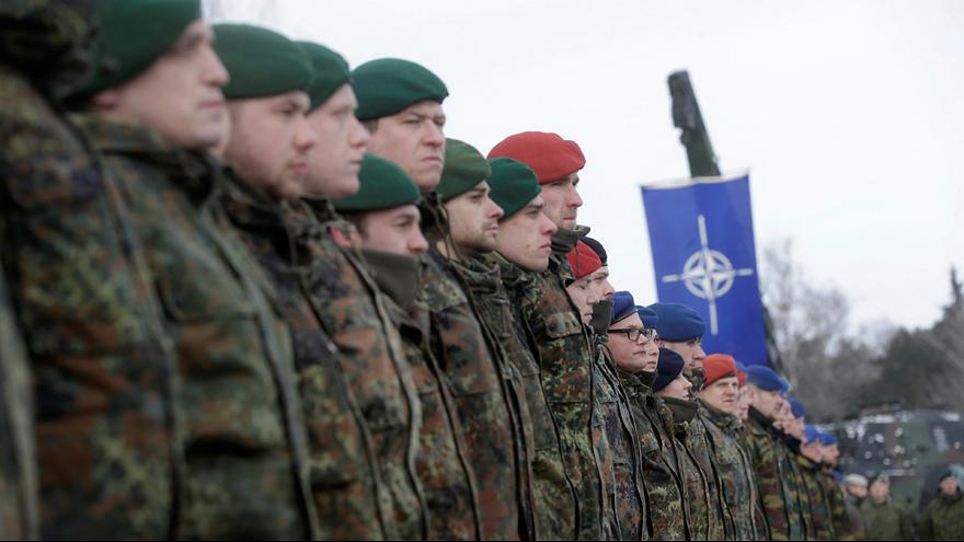 Ενισχύεται η παρουσία του ΝΑΤΟ στην ανατολική Ευρώπη