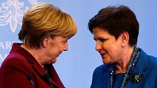 Líderes da Polónia e da Alemanha debateram futuro pós-Brexit