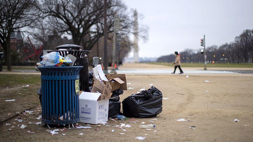 Image: US government in partial shutdown in Washington, DC, USA