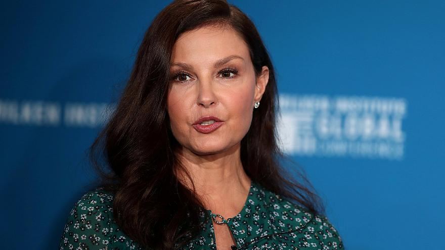 Image: Actress Ashley Judd speaks at the Milken Institute's 21st Global Con