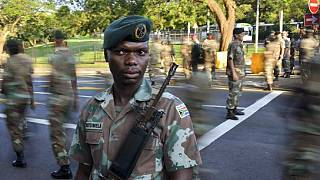 Over 400 soldiers deployed for Zuma's parliamentary address, opposition fumes