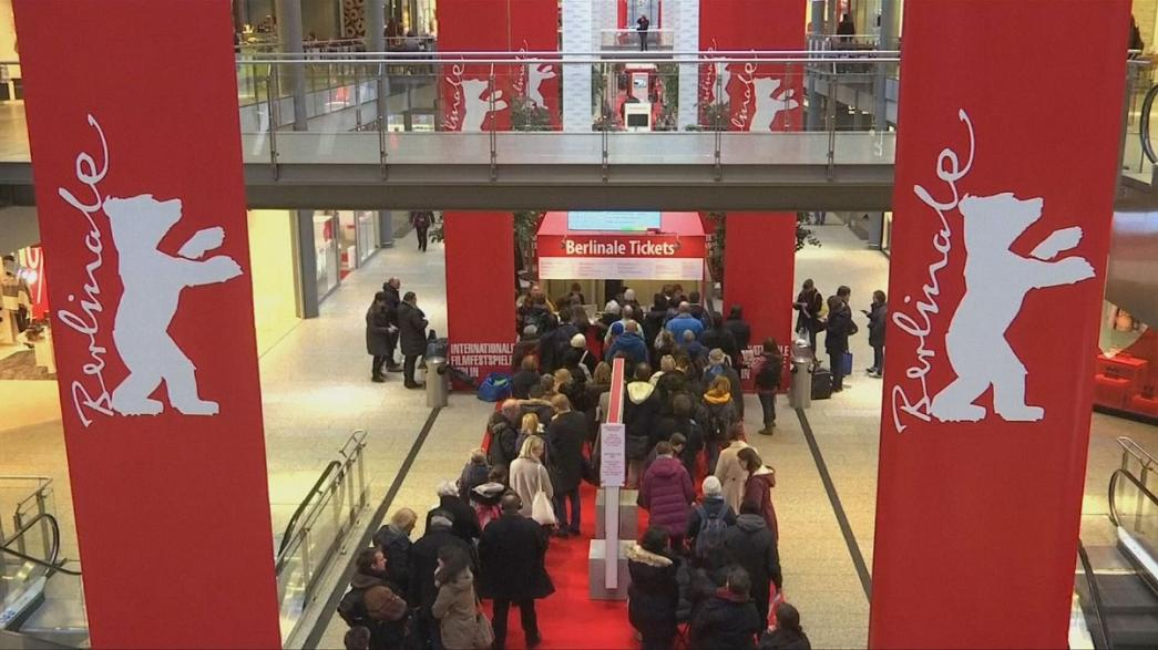 Movie fans queue early for the Berlinale