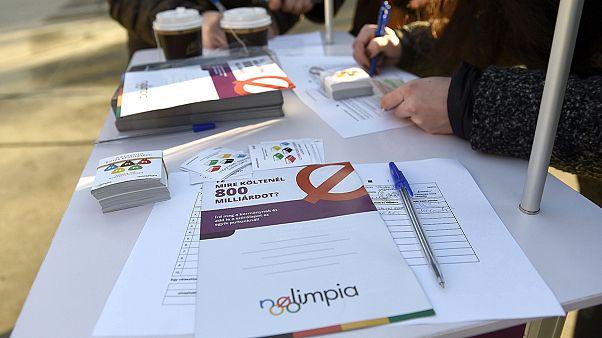 Rendőrsorfal akadályozta az olimpiai aláírásgyűjtést