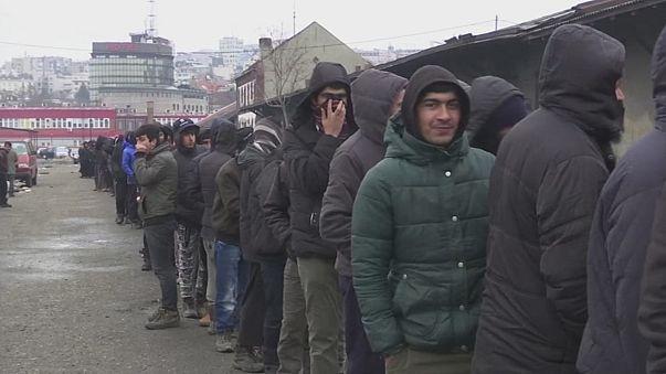 7 bin sığınmacı Macaristan kapısında