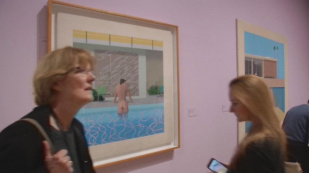 David Hockney retrospektif sergisi Tate Britain'de