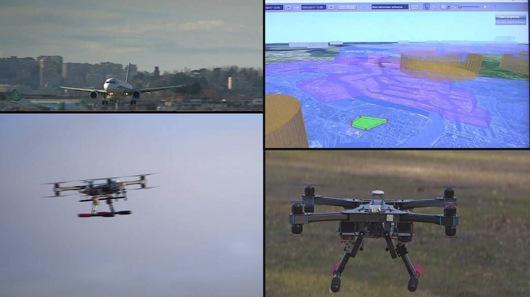 Πώς τα drones δεν θα συγκρουστούν με αεροσκάφη