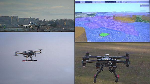 La sfida dei droni nello spazio aereo
