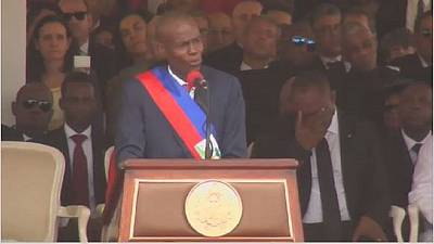 Haiti: Jovenel Moise sworn in
