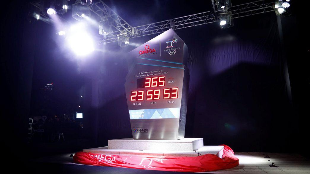 Le compte à rebours est lancé pour les Jeux de Pyeongchang