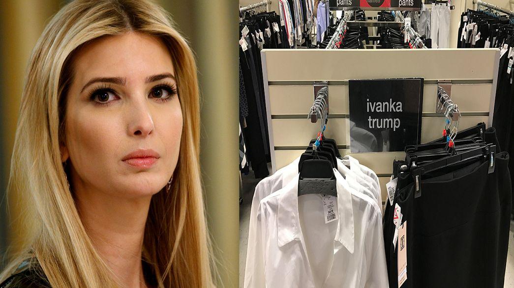 Pai presidente: Donald Trump ataca cadeia de lojas que suspendeu marca de Ivanka