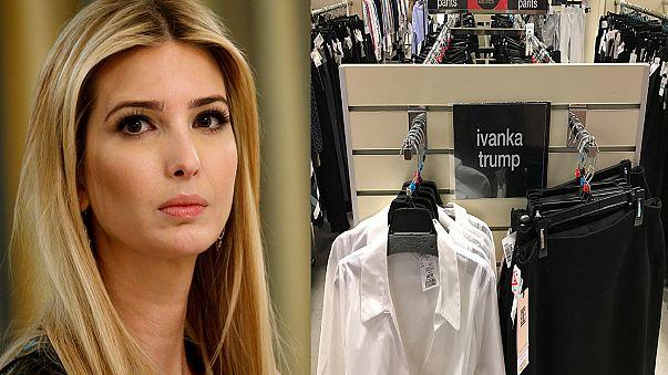 Trump usa la cuenta presidencial en Twitter para criticar a la que empresa que retiró la línea de moda de su hija Ivanka