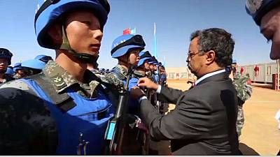 UN honours Chinese peacekeepers in Mali
