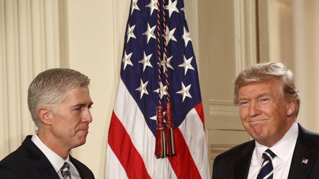 Trumps Kandidat für das oberste Gericht kritisiert dessen Richterschelte