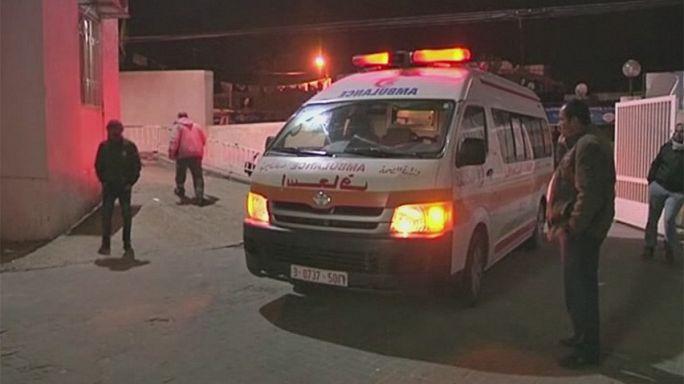Dos palestinos muertos en el bombardeo israelí a un túnel de contrabando