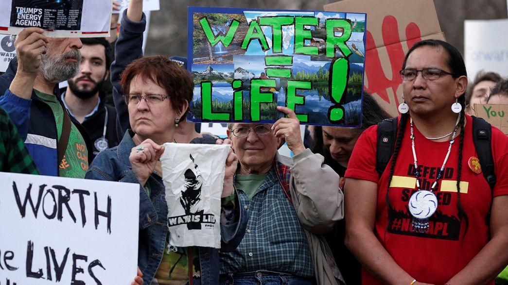Arrancan las obras del oleoducto en Dakota del Norte que había parado Obama