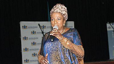Afrique du Sud: la chanteuse de jazz Thandi Klaasen célébrée