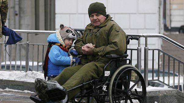 A guerra continua a ceifar vidas na Ucrânia