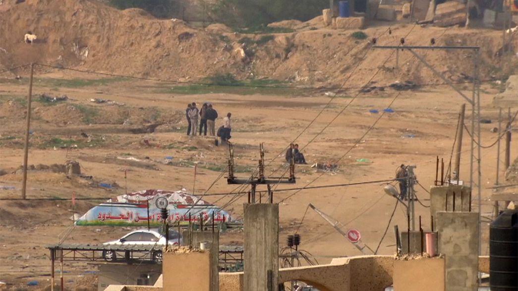 Tensions flare on Israel-Gaza border
