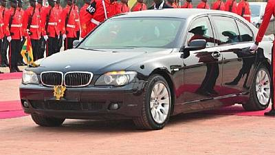 Ghana: 208 luxury cars missing at presidency after change of gov't