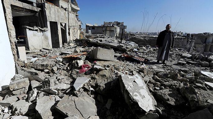 Alltag in Ostaleppo: Ein Leben in Trümmern