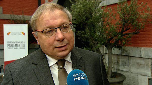 El presidente del Parlamento valón lanza una advertencia sobre el CETA