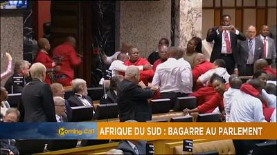 South Africa parliament thrown into chaos [The Morning Call]
