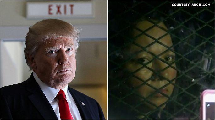 Trump'ın göçmen politikası Meksikalı anneyi çocuklarından ayırdı
