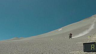 Récord mundial de velocidad en bicicleta de montaña en Atacama