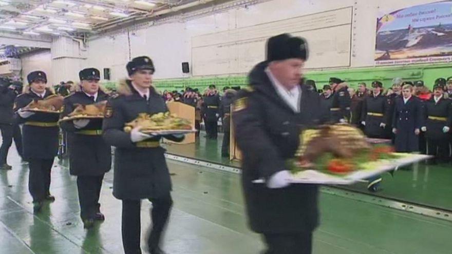 Marinha russa celebra regresso de efetivos a casa