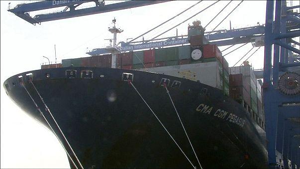Exportações chinesas sobem em janeiro superando previsões
