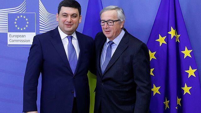 L'Ue conferma il suo sostegno al premier ucraino
