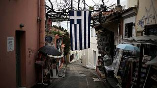 Greek finance minister meets eurozone officials over bailout logjam