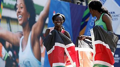 Kenya's Jepchirchir sets new world record in women's half marathon