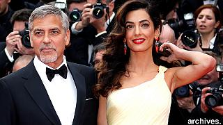 Twins on the way for George and Amal Clooney