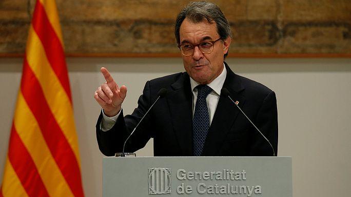 Catalunha: Termina audiência de Artur Más