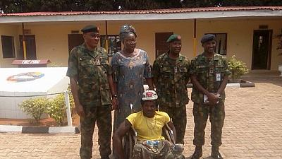 Nigerian Army demotes and jails 2 officers for mistreating disabled civilian