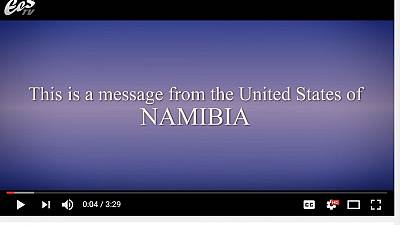 Namibia introduces itself to Donald Trump in new satirical video