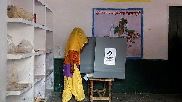 آغاز انتخابات اوتارپرادش، آزمونی برای نخست وزیر هند