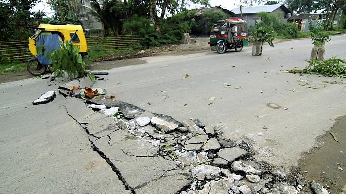 Sismo de 6.5 atinge Filipinas