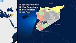 نیروهای ارتش آزاد سوریه به کمک نظامیان ترکیه وارد الباب شدند