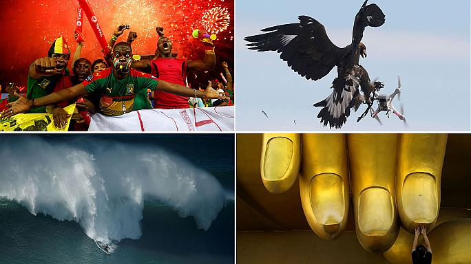 Pictures of the week: Afcon final, lunar new year and a royal race