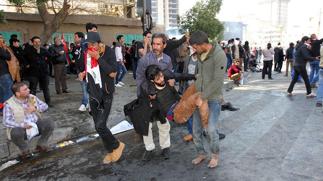 Protestos antigoverno em Bagdade: sete mortos e centenas de feridos